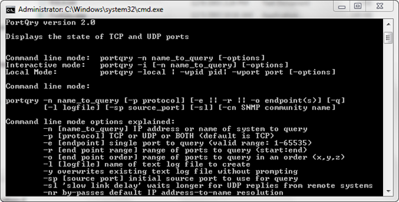 Forget telnet for testing ports, use portqry